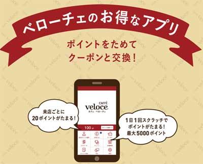 ベローチェのアプリ
